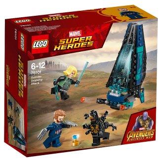 LEGO Super Heroes Útok lodi Outrider 76101