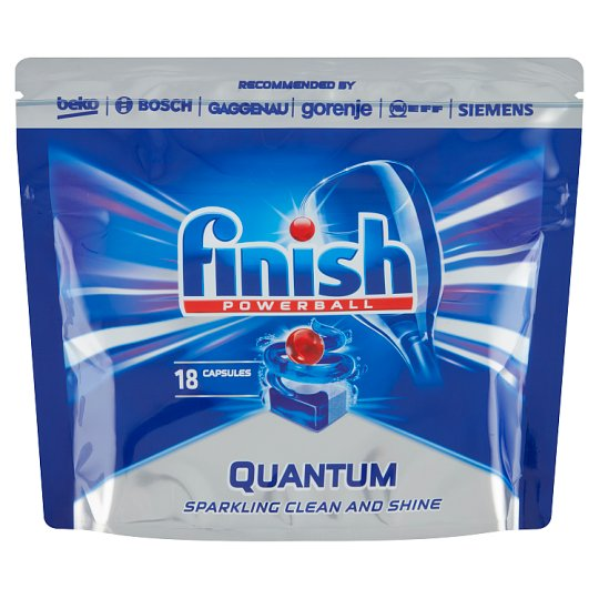 Finish Powerball Quantum Max Dishwasher Tablets 18 pcs 279g