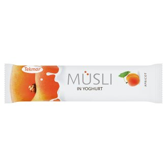 Tekmar Müsli Bar with Apricots in Yogurt with Glaze 30g