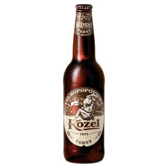 Velkopopovický Kozel Černý pivo výčepní tmavé 0,5l