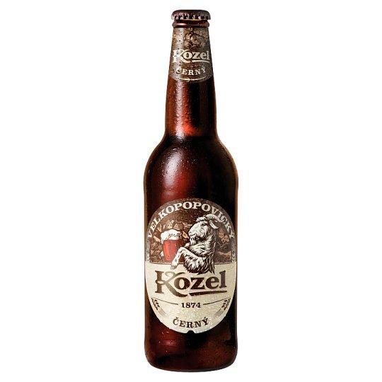 Velkopopovický Kozel Černý Dark Tap Beer 0.5L