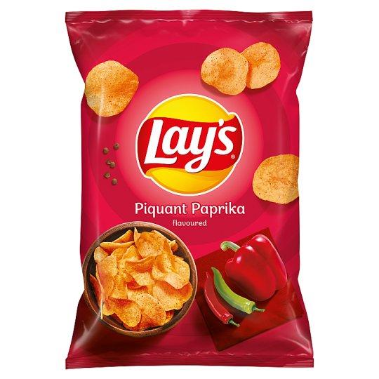 Lay's Smažené bramborové lupínky s příchutí pikantní papriky 140g