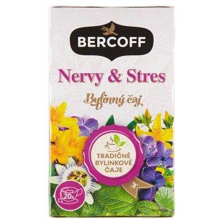 Bercoff Klember Herbal Nervy a stres bylinný čaj 20 x 1,5g
