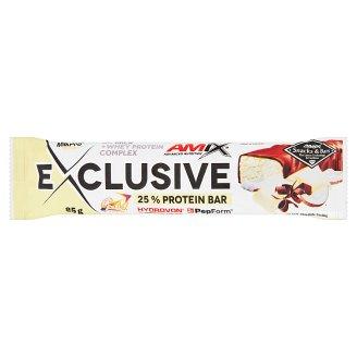 Amix Exclusive Bílá čokoláda & kokos proteinová tyčinka 85g