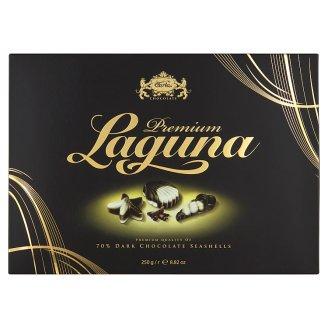 Carla Laguna Premium mořské plody z hořké čokolády 250g