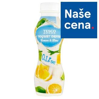 Tesco Jogurtový nápoj citron-limetka 350g