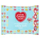 Tesco Loves Baby Fragrance Free Ultra Soft Wipes 24 pcs