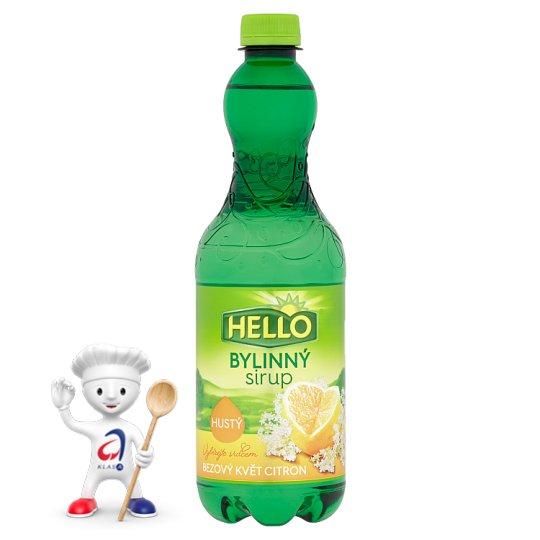 Hello Herbal Syrup Elderflower Lemon 0.7L