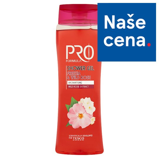 Tesco Pro Formula Sprchový gel Freesia & Wild Rose 400ml