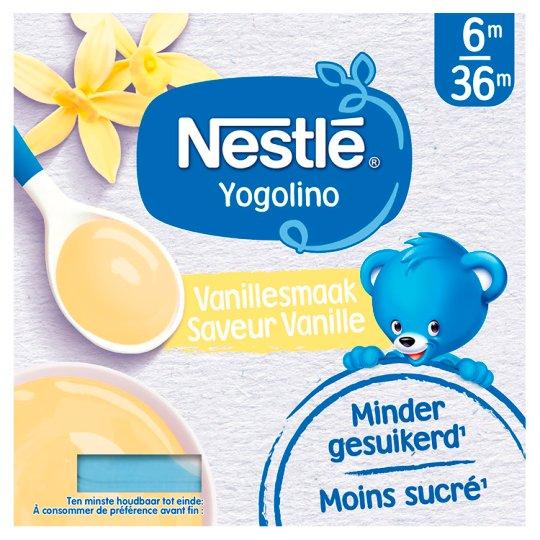 Nestlé Yogolino Dessert příchuť vanilka 4 x 100g