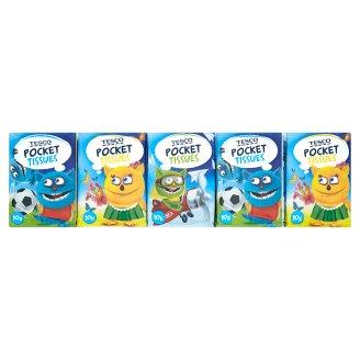 Tesco Papírové kapesníky Kids Mini 10 x 10 ks