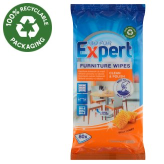 Go for Expert Spicy Honey Furniture Wipes 80 pcs