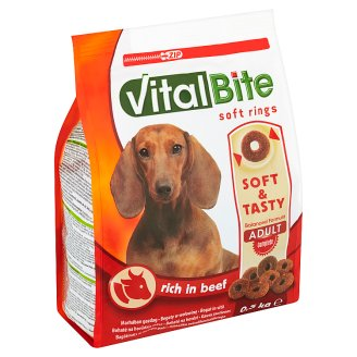 VitalBite Complete Soft Rings Rich in Beef 0.5kg