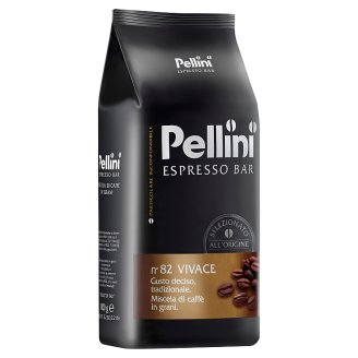 Pellini N.82 Vivace Roasted Blend of Coffee Beans 1kg