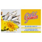 Gold Plus Sardines in Brine and Vegetable Oil 125g
