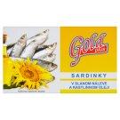 Gold Plus Sardinky ve slaném nálevu a rostlinném oleji 125g