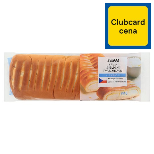 Tesco Strudel with Curd Filling 400g