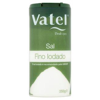 Vatel Jedlá vakuová sůl s jódem 250g