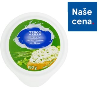 Tesco Traditional Butter Spread with Chive 150g