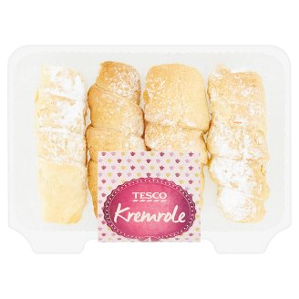 Tesco Cream Rolls 140g