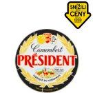 Président Camembert sýr s bílou plísní na povrchu 250g