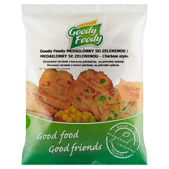 Goody Foody Medailonky se zeleninou Chicken Style 400g