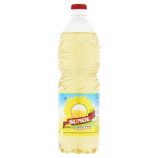 Sunol 100% Sunflower Oil 1L