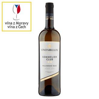 Víno Mikulov Sommelier Club Rulandské šedé víno s přívlastkem pozdní sběr suché bílé 0,75l