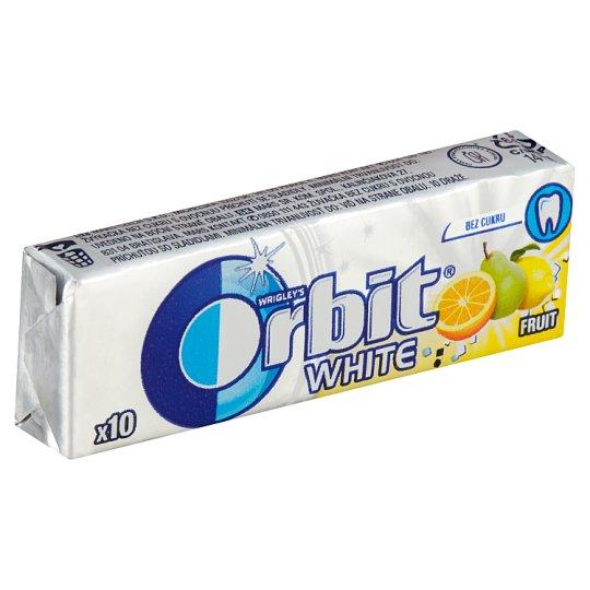 Wrigley's Orbit White žvýkačka bez cukru s ovocnou příchutí 14g