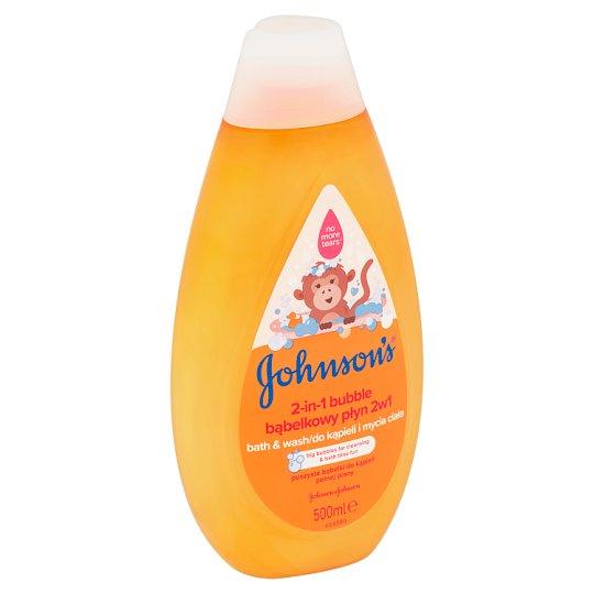 Johnson's Bublinková koupel & mycí gel 2v1 500ml