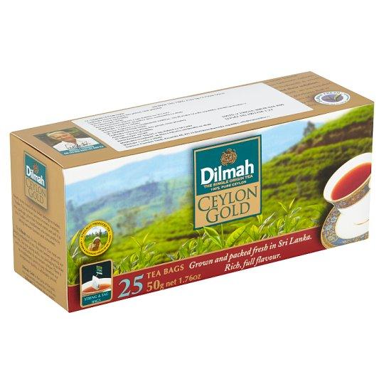 Dilmah Ceylon Gold černý čaj 25 x 2g