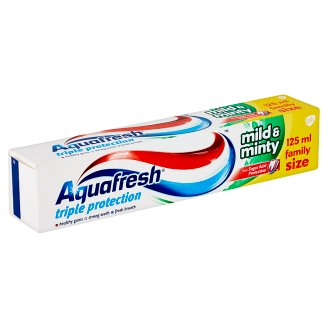 Aquafresh Mild & Minty Toothpaste 125ml
