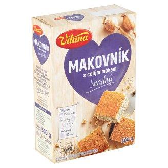 Vitana Poctivá Kuchyně Makovník 500g
