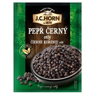 J. C. Horn Whole Black Pepper 15g