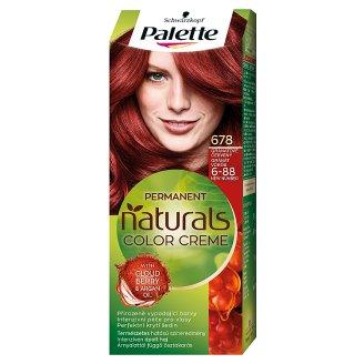 Schwarzkopf Palette Permanent Naturals Color Creme barva na vlasy Granátově Červený 678 (6-88)