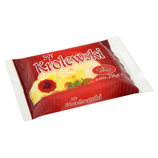 Krolewski Cheese of the Emmental Type 45% Pad 250g