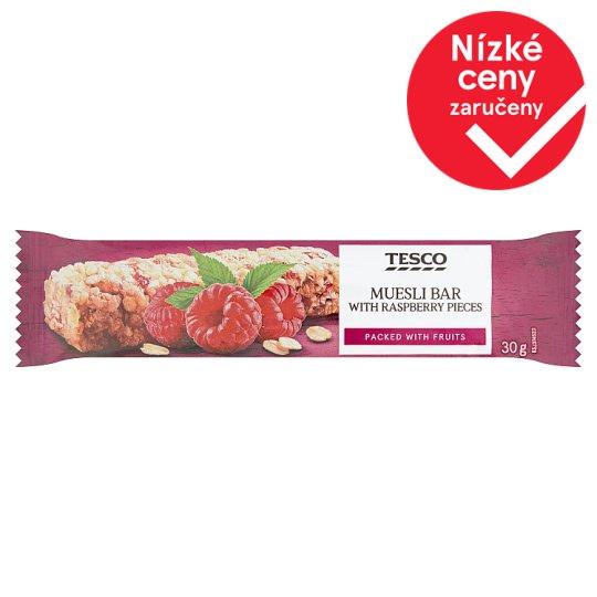 Tesco Muesli Bar with Raspberry Pieces 30g