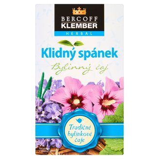 Bercoff Klember Herbal Klidný spánek bylinný čaj 20 x 1,5g
