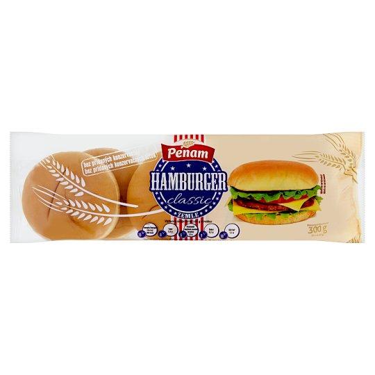 Penam Hamburger Bun Classic 6 pcs 300g