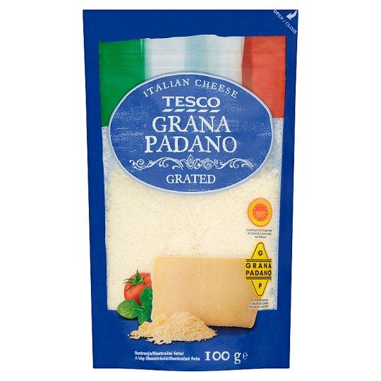 Tesco Grana Padano Grated 100g