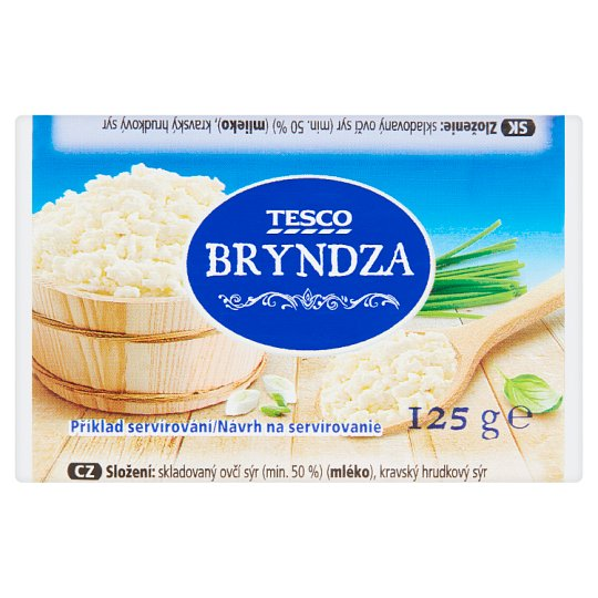 Tesco Sheep Cheese 125g