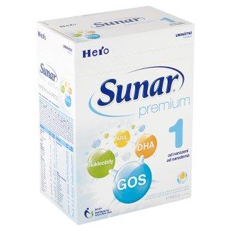 Sunar Premium 1 počáteční sušená mléčná kojenecká výživa 2 x 300g
