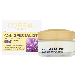 image 2 of L'Oréal Paris Age Specialist 55+ Restorative Anti-Wrinkle Night Cream 50ml