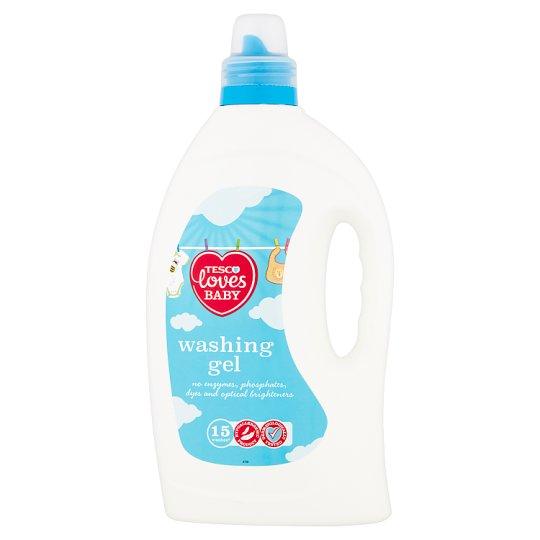 Tesco Loves Baby Gel na praní kojeneckého oblečení 15 praní 1,46l