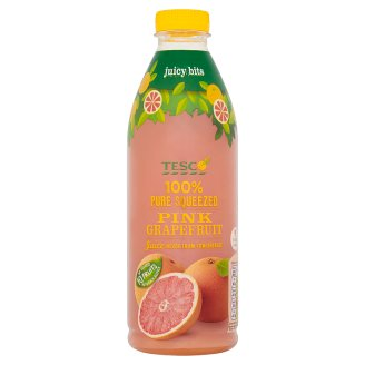 Tesco Pink Grapefruit Juice 1L