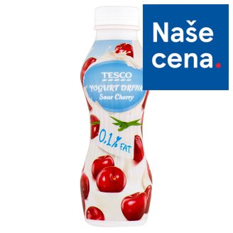 Tesco Yogurt Drink Sour Cherry 350g