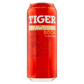 Tiger Strawberry Boom energetický nápoj 500ml