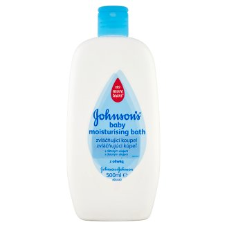 Johnson's Baby Moisturising Bath with Baby Oil 500ml