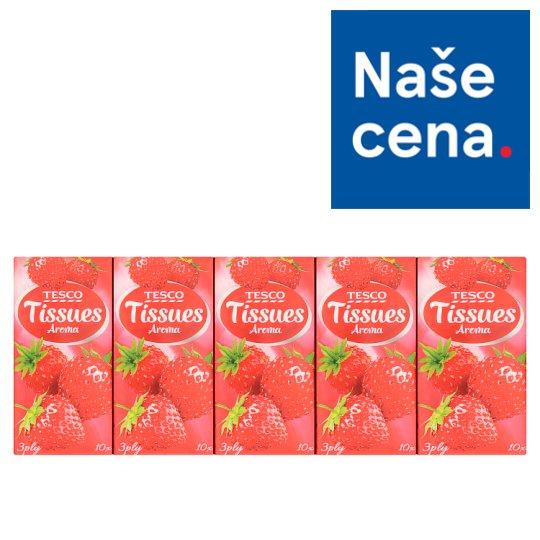 Tesco Tissues Aroma 10 x 10 pcs