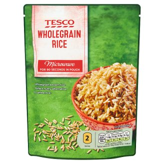 Tesco Wholegrain Rice 250g